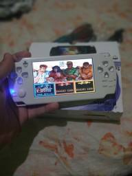 PSP retro com metal slug - The King of fighter - Cadillacs dinossauro