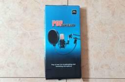 PopShield para microfones de mesa