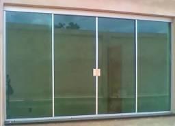 Janela de vidro?