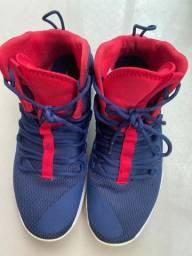 Nike HyperDunk X AZUL e VERMELHO 43