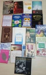 Faça sua oferta! Lote de Livros