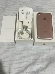 iPhone 7 Rose - 32 GB - Super Conservado - NÃO ACEITO ML