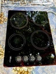 Título do anúncio: Fogao cooktop vidro fischer 4 bocas