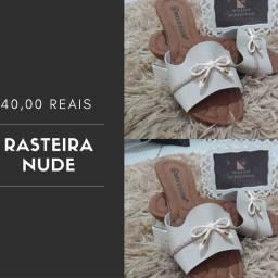 Vende-se rasteiras 40,00 reais