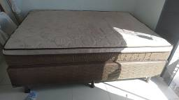 Cama Box casal Ortobom, R$ 550.00