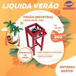Fogão Industrial 1 boca de pé / sem forno