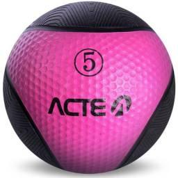 Medicine Ball 5Kg Rosa - Acte