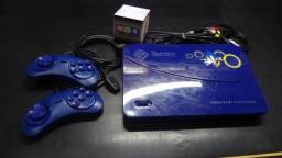 Master System Evolution Blue Completo e na Caixa!
