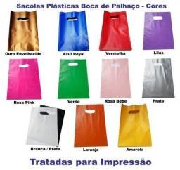 Título do anúncio: Sacolas Plásticas Boca de Palhaço