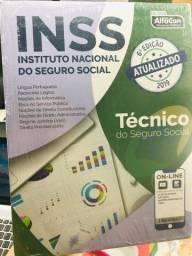 Livros para concurso INSS, MILITARES, MPU, TRIBUNAIS