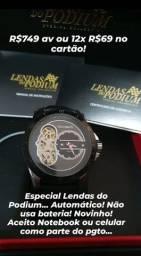 Relógios semi novos originais, na caixa c/manual Em perfeito estado de funcionamento!