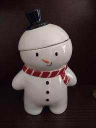 Porta biscoito de natal