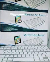 Título do anúncio: Teclado Keyboard Wireless/ Sem Fio Bluetooth Padrão Apple - ABNT