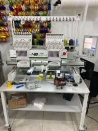 Máquina de bordar industrial