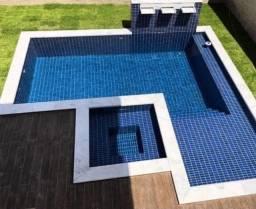 Título do anúncio: Borda de piscina em mármore branco bruto