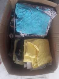 Lote de roupas em ótimo estado