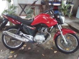Moto CG 150/ vermelha