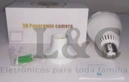 Título do anúncio: Lâmpada câmera espiã monitoradora