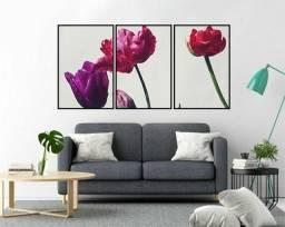 Quadros decorativos kit com 3