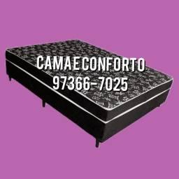 Título do anúncio: CABECEIRA $199,90, CAMA BOX CASAL $379,90, ENTREGA GRÁTIS!!