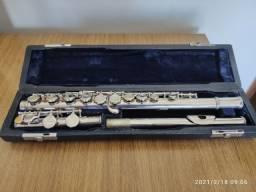 Flauta Transversal HFL-25N Do Revisada, é pegar e tocar!