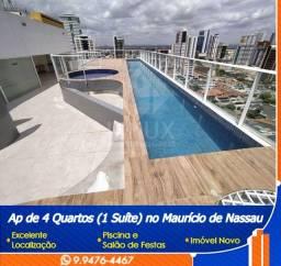 Apartamento de 4 quartos (1 suíte) para venda em Caruaru/PE