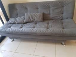 Título do anúncio: Sofá cama confortável  - Cinza