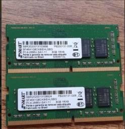 2 X Memória Ddr4 8gb 2666v