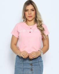 Camisa feminina (T-shirt)