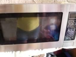 Microondas Philco 30 litros Aço escovado