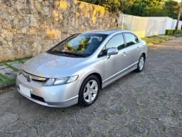 Vendo Lindo Civic LXS automatico 2007 impecável troco e financio