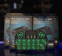 Título do anúncio: Mini Teclado Wireless Mini Keyboard Usb Sem fio com Touch Pad