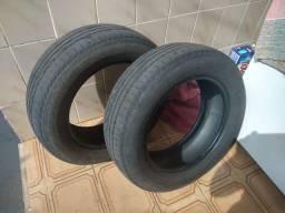vendo par de pneus 185/65 R15 88H Bridgestone Turanza (meia vida)