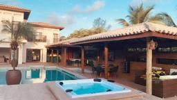 Casa 4 Suítes Quintas de Sauípe Porteira Fechada Alto Luxo