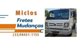 Fazemos fretes e mudanças a partir de R$50,00, ligue e faça seu orçamento.