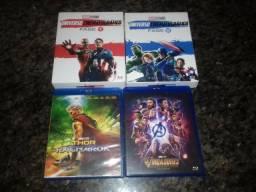 Coleção de filmes Marvel blu-ray