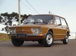 Vw - Volkswagen Brasília 1600 Placa preta 1976