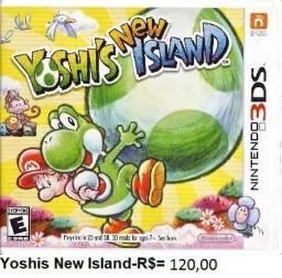 Yoshi,s new island de nintendo 3ds, usado comprar usado  Porto Alegre