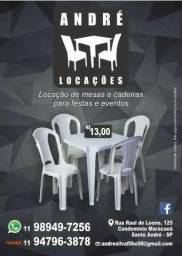 André Locações de Mesas e Cadeiras