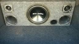 Box de som e módulo Power one