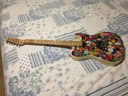 Guitarra Telecaster Tagima Signatura Marcinho Eiras Cartoon