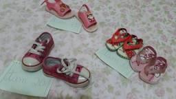 Lote de calçados (tamanho está na foto)