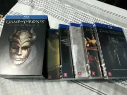 Box de Game of Thrones, da 1ª à 5ª temporada! Blu-rays Seminovos e #Megabaratos!