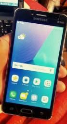Samsung J2 Prime 4G 2Chips c/ Capa, Película de vidro e c/ Flash na Frontal
