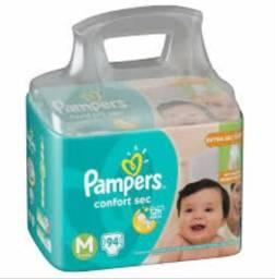 Mega Pacotão Pampers Confort Sec