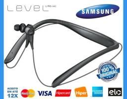 Fones de Ouvido Samsung Level U Pro UHQ Áudio c/ Bluetooth, Wi-Fi, Novo, Caixa, Gar, Troc