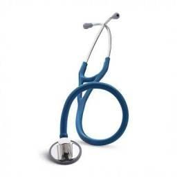 Estetoscópio littmann máster cardiology azul marin
