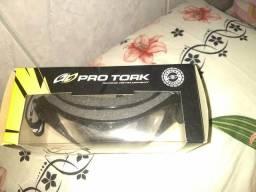 Óculos Pro Tork esportivo pra capacete! novo zerado nunca usado!
