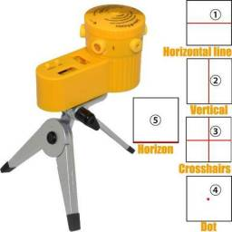 Nivel Laser Horizontal e Vertical c/ Tripe