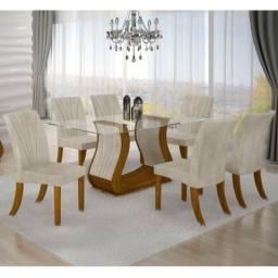 Conjunto Sala de Jantar com 6 cadeiras PROMOÇÃO!